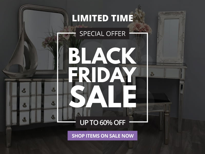 Mirrored Chest of Drawers – Storage with Space and Style | Black Friday Sale