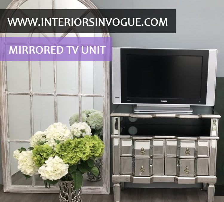 Mirrored TV Unit – Living Room Furnishings – Vision and Style