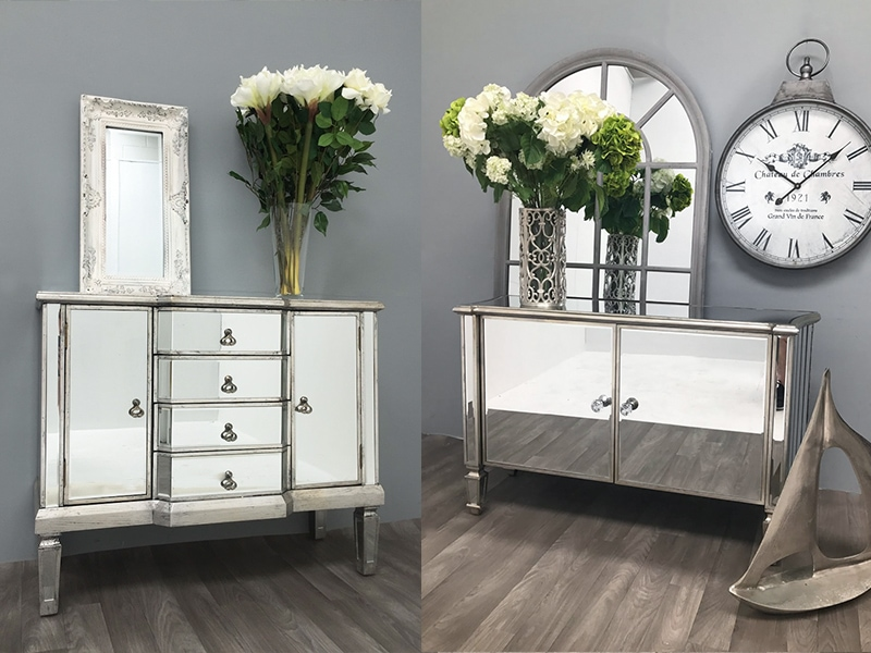 Mirrored Sideboard: An ideal choice for your living room