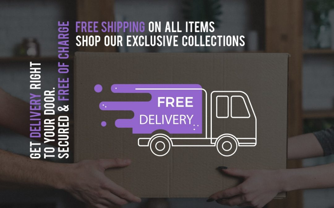 Free delivery on all items – this week only!