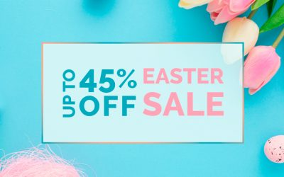 Easter Sale – mirrored furniture at reduced prices up to 45% off!